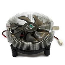 Приветствуя 1 шт. бесплатная доставка ллой подшипник 3PIN 12 В процессора прохладный охлаждения радиатора пк кулер вентилятор поддержка Intel / AMD #FS040