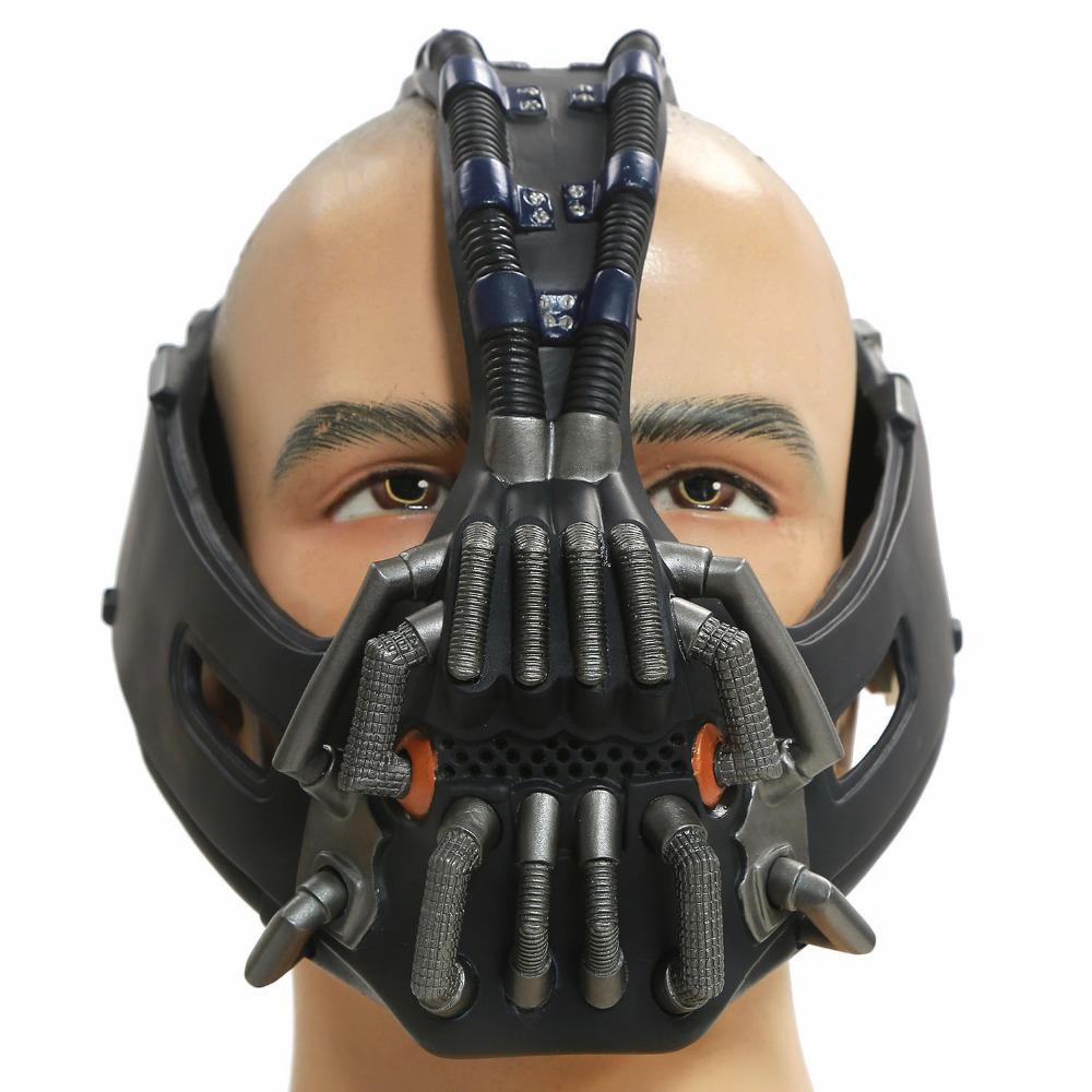 Bane Mask Batman:The Dark Knight  Cosplay Half Head Helmet Halloween Costume AccessoriesОдежда и ак�е��уары<br><br><br>Aliexpress