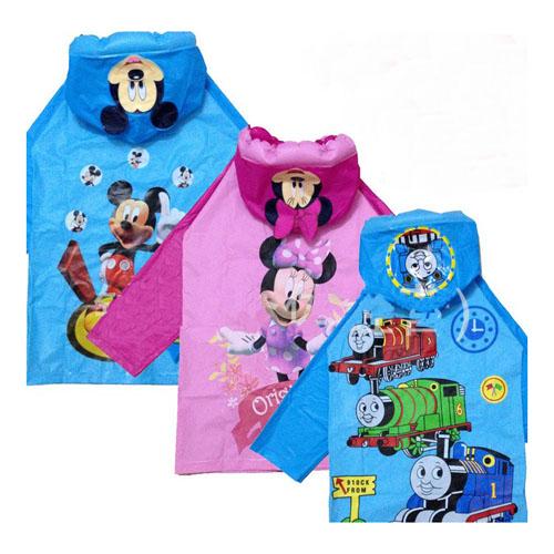 2015 New kids rain coat children raincoat waterproof cartoon rainwear unisex child rainsuit carton rainsuit(China (Mainland))