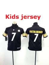 Kids youth Free fast shipping Best Quality Pittsburgh Steelers 32 Franco Harris 83 Heath Miller 84 Antonio Brown()