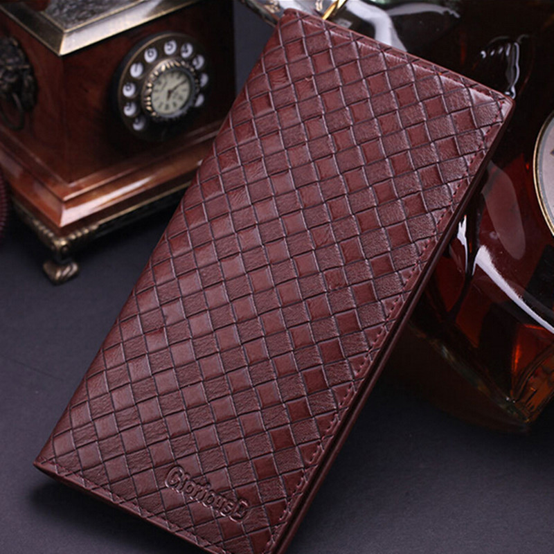 High Quality Man Wallets Fashion Design Leather Mens Wallet, Business Style Brand Mens Long Wallet Zipper Wallet Clutch<br><br>Aliexpress