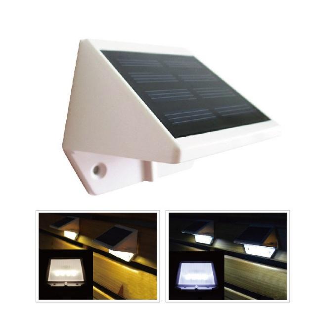 Yh730 solar spot luminaria solar energy waterproof 4 led for Luminarias de exterior led