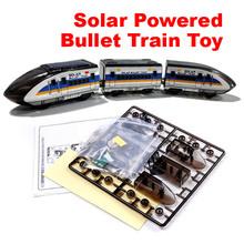 New Educational Solar Powered DIY Bullet Train Kit Good Quality Free Shipping(China (Mainland))