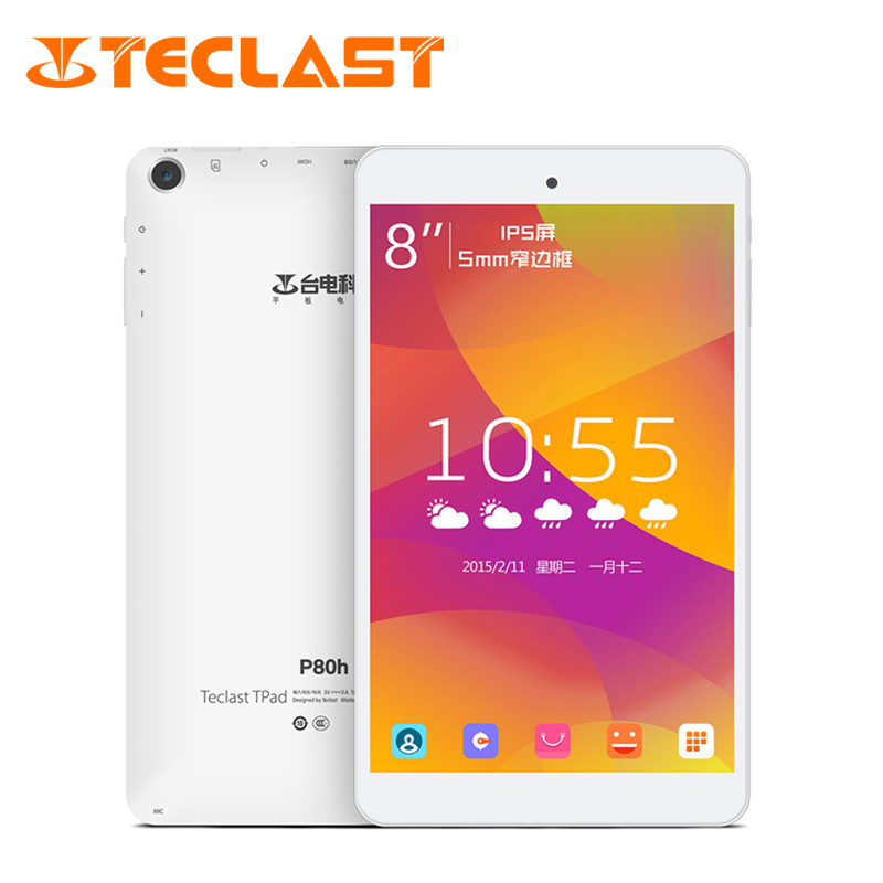 """Teclast P80h Tablet PC MTK8163 A53 64 Bit 8"""" IPS Screen Android 5.1 Dual Band WiFi 2.4G/5GHz GPS Bluetooth 4.0(China (Mainland))"""