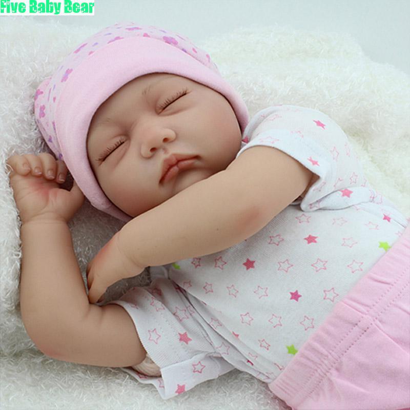 Фотография 22inch Reborn Baby Dolls Toys Bonecas Reborn De Silicone Realistas Children Dolls for Girls Boy