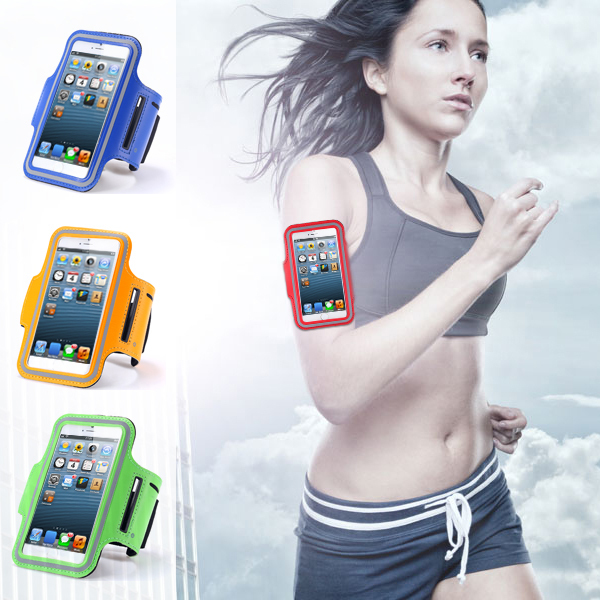 for iphone4 4S 4G Waterproof PU Leather Brush Workout Sport Gym Case Arm band Exercise Cover Running Cases for apple iphone 4 4S(China (Mainland))