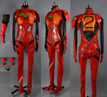 Neon Genesis Evangelion EVA Soryu Asuka Langley Battle suit cosplay Costume red costume