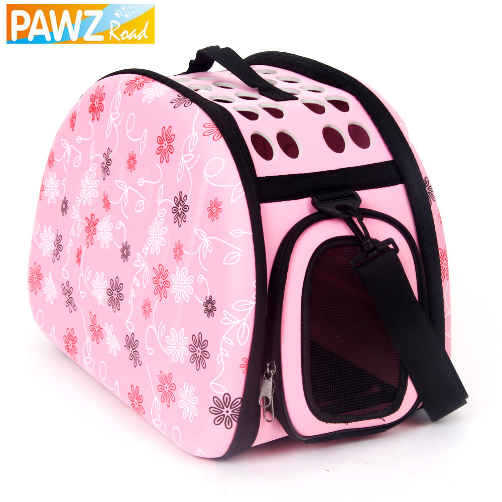 Freeshipping storage folding pet bags pet carrier small dog carrier