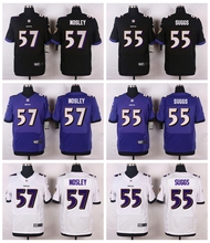 high quality Steve Smith Sr,Ray Lewis,Matt Elam,Kamar Aiken,Joe Flacco,C.J. Mosley,Terrell Suggs, For youth Raven fit size(China (Mainland))