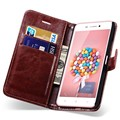 Vintage Luxury Wallet PU Leather Case For Lenovo P780 Stand Function With Card Holder Mobile Phone Bag Cover Black And Brown