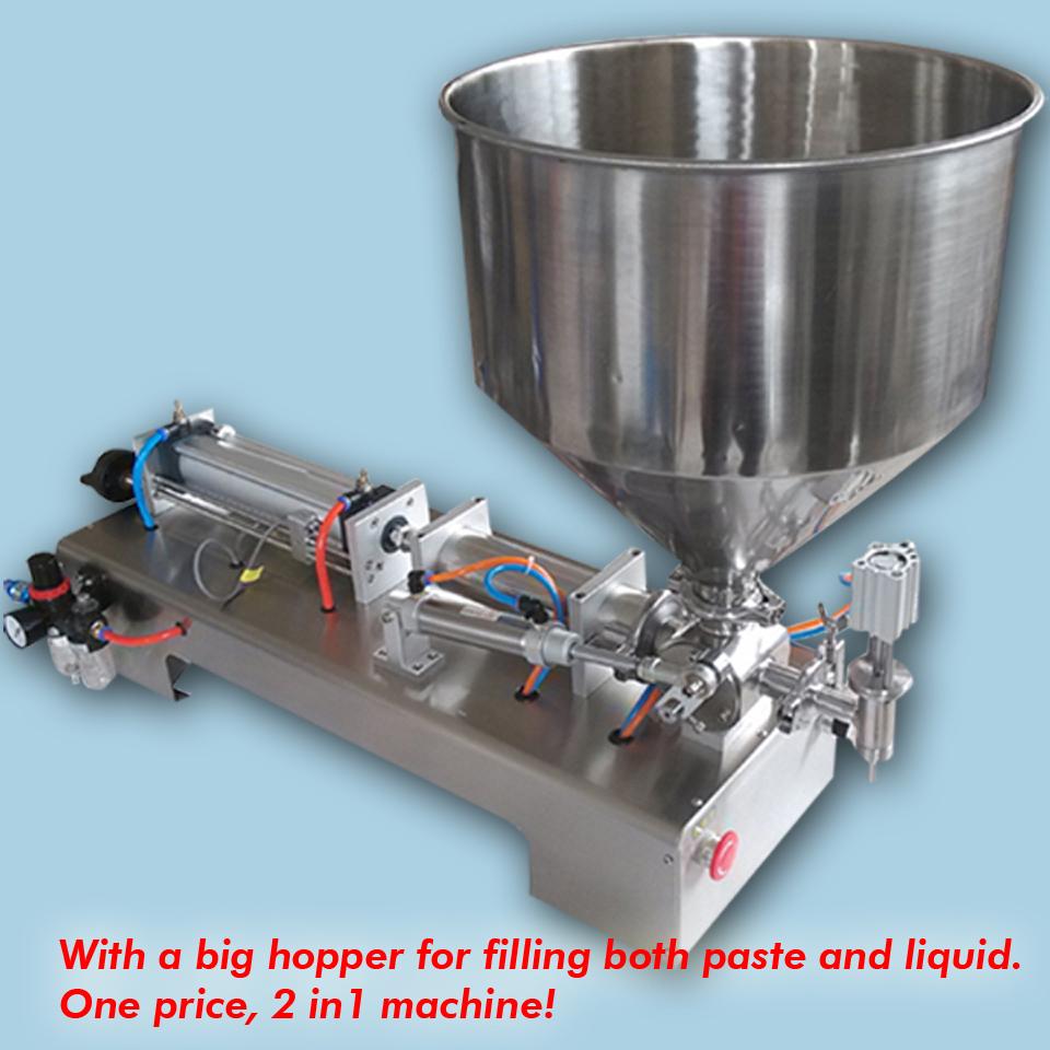 10ML-300ML filling machine hopper paste liquid ,12 months guarantee - YOLI Group company store