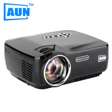 AUN Projector AM01P LED Projector Built-in Android 4.4 DLAN WIFI Bluetooth Miracast Airplay EZCast Multilanguage MINI Beamer(China (Mainland))