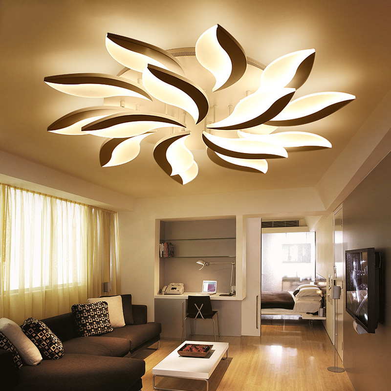 Ceiling light crystal promotion shop for promotional - Iluminacion dormitorios modernos ...