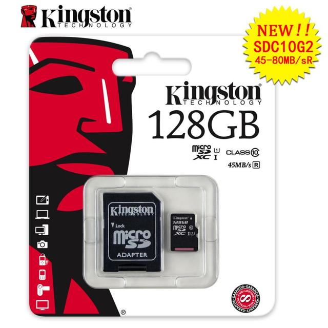 Kingston Memory card micro sd Cards tf card 4GB 8GB 16GB 32GB 128gb 64gb class 10 mini sd card tarjeta micro sd