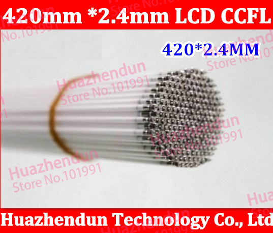 "30/lot Free shipping 2.4*419mm 2.4*420mm CCFL tube Cold cathode fluorescent lamps for 19"" widescreen LCD monitor LCD Lamp(China (Mainland))"