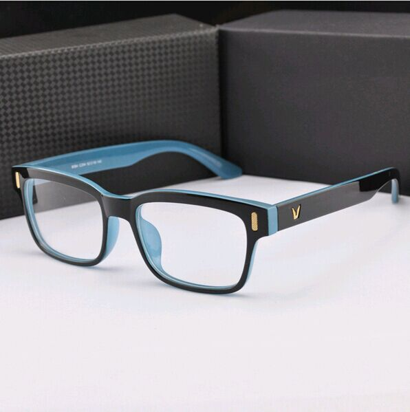 High grade V Shaped Box Eyeglasses Frame Brand For Women ...