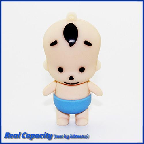Genuine Cute Carton Baby Boy USB Flash Drive Lovely Kid Memory Stick Pen Drive 4GB 8GB 16GB 32GB 64GB Pendrive(China (Mainland))