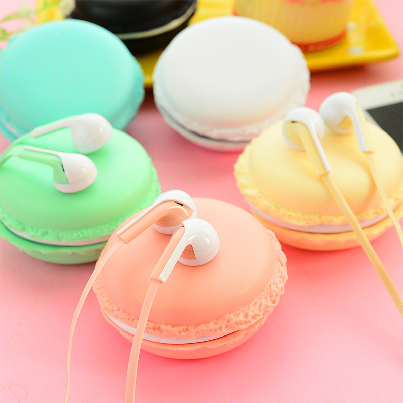 IM800 macarons in-ear earphones bests headphones headset for xiaomi samsung iphones cute headphone for mp3 player(China (Mainland))