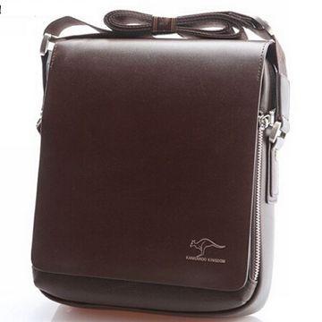 2015 Fashion Brand Australia Kangaroo Design Men's Shoulder bag Vintage Briefcase Messenger bag for Men Hot Promotion P010(China (Mainland))