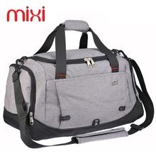 Mixi 39L Polyester Sport Bag Training Gym Bag Men Woman Fitness Bags Durable Multifunction Handbag Outdoor Sporting Duffle Bag(China (Mainland))