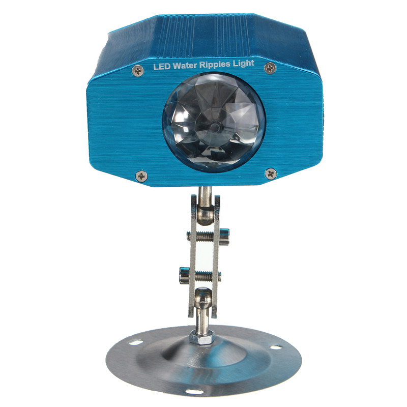 Top QualityMini 5W Auto Voice Activated Water Ripple Projector LED Laser Stage Light DJ Disco KTV Party Lighting Show AC110-265V(China (Mainland))