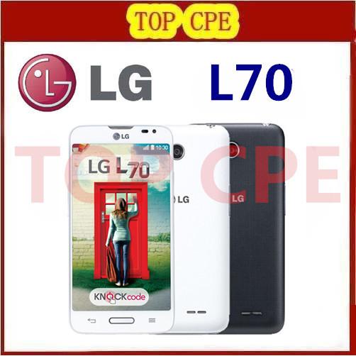 "Original Unlocked LG L70 D323 D320 D325 Dual SIM Card Smartphone 4.5"" 5MP Camera 1G RAM 4G ROM 3G Dual Core Wifi GPS(China (Mainland))"
