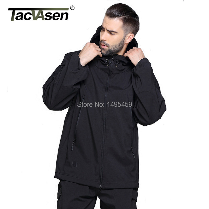 Outdoor Brand Clothing Army Military Tactical Jacket men Soft Shell Waterproof Hunting Climbing Men Jacket Coat Plus Size 4XL(China (Mainland))