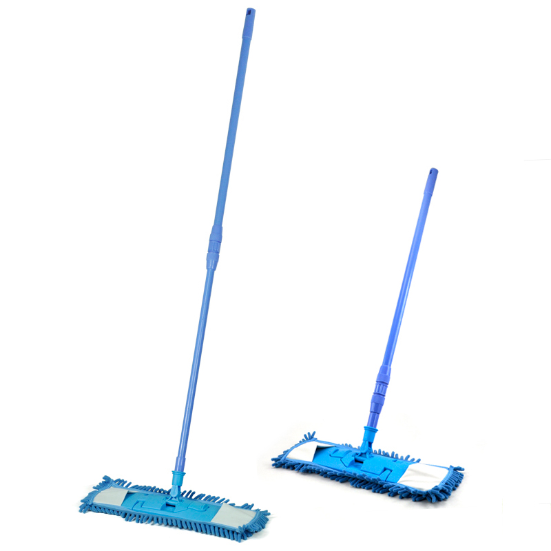 CLOS Extendable Microfibre Mop Cleaner Sweeper Wooden Laminate Tile Floor Wet Dry(China (Mainland))