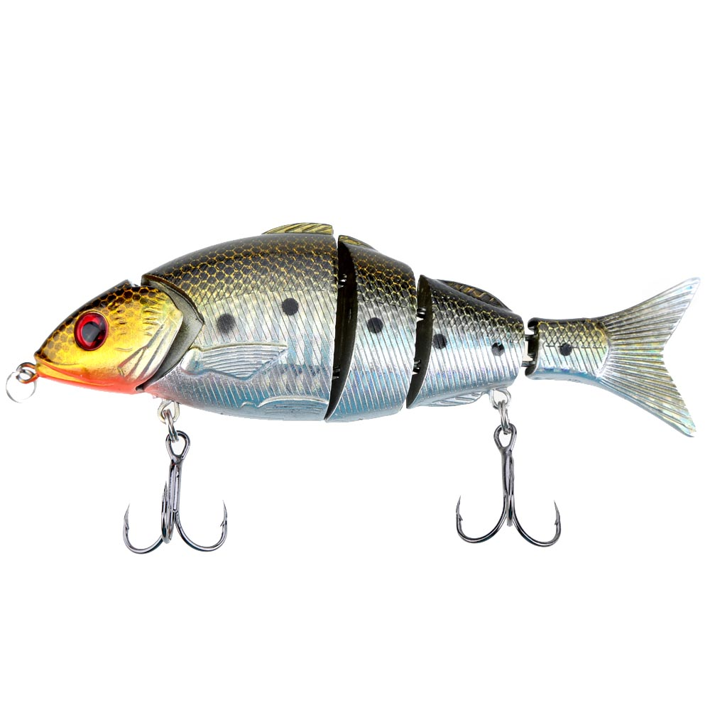 12.5cm 21g Fishing Lures Bionic Multi Jointed Artificial Lures Lifelike Hard Baits Swimbait Lures Pesca Fishing Tackle(China (Mainland))
