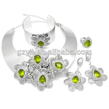 Big african jewelry set hot selling 2013 free shipping