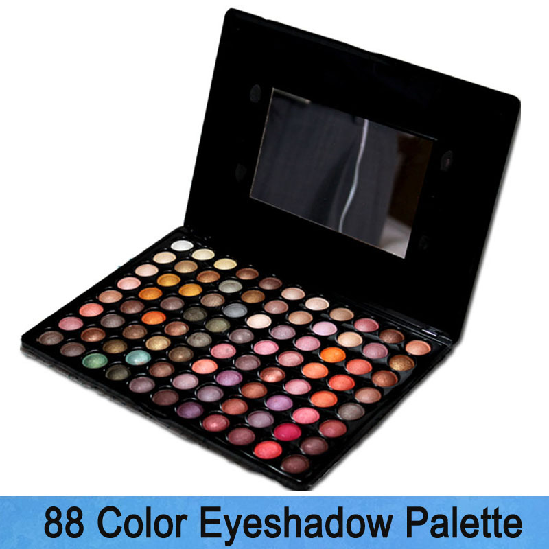 More than 88 color eye shadow plate metal color is pearl color eye shadow palette(China (Mainland))