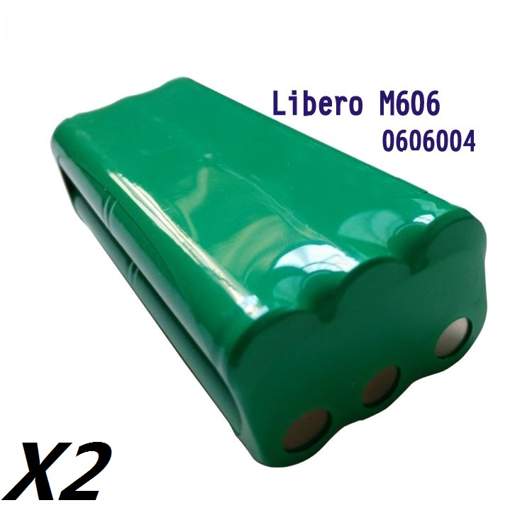 2*14.4V Battery Replaces DIRT DEVIL 0606004 Fits Libero M606 Portable Vacuums(China (Mainland))