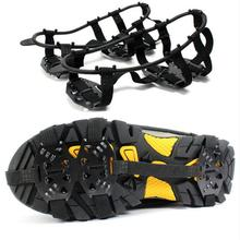 2Pcs/Pair Ice Snow Shoes Gripper Non-Slip Spikes Boots Overshoes Climbing Grip Crampon Walk Cleat(China (Mainland))