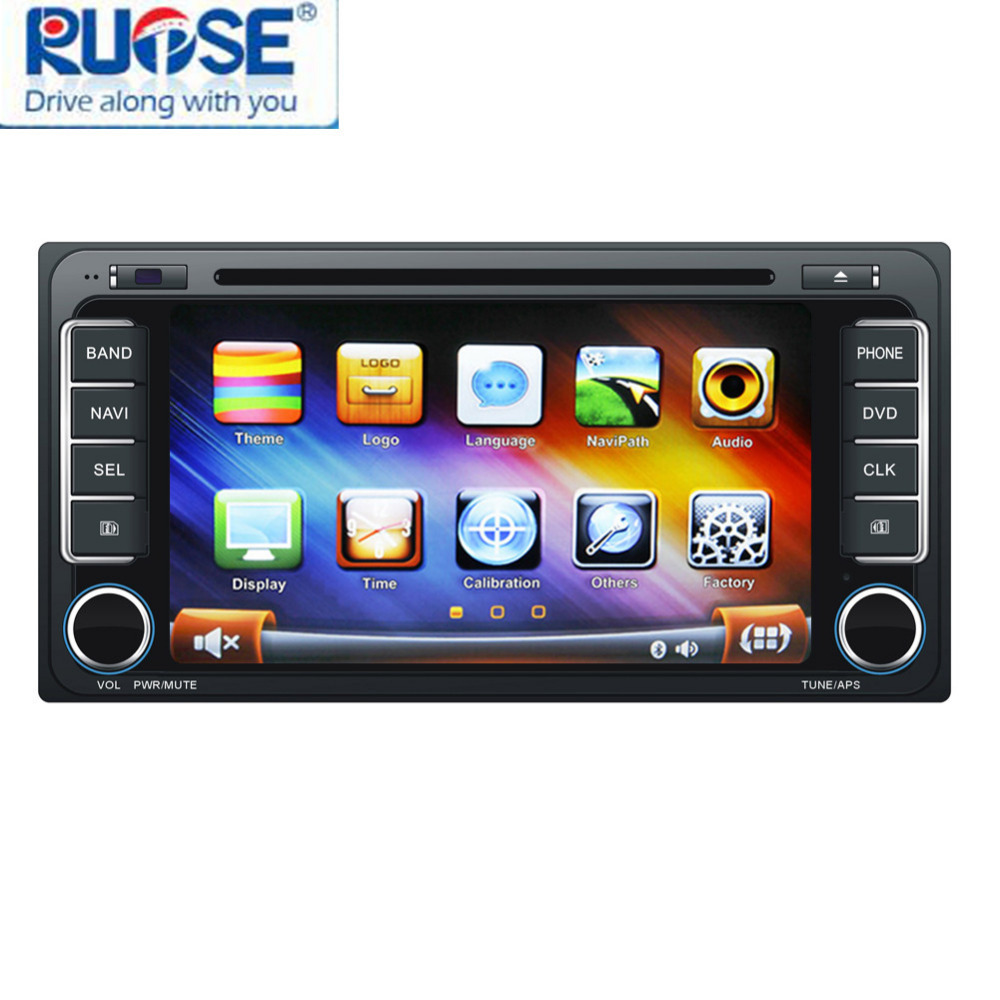 Car DVD GPS Naviagtion Car Stereo for Toyota Corolla Camry Aurion Auto Radio Sat Nav Multimedia With Bluetooth Phonebook(China (Mainland))