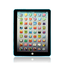 Russian Learning Machine Educational Electronic Multifunctional Tablet For Early Baby Development Gift Idea For Children(China (Mainland))