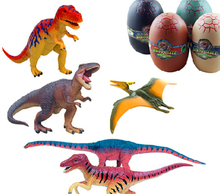 Creative toy Children's puzzle 4 D assembly model of the dinosaurs toy Random delivery(China (Mainland))