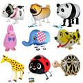 9Pcs set Animal styles Foil Inflatable Balloons Wedding Happy Birthday Decoration Air Balloons Party Balloon Children
