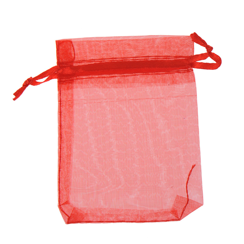 Wholesale 20 Pcs/Lot Organza Christmas Wedding Gift Bags Jewelry Packing Drawable Organza Bag Pouch Wedding Favor Gift Candy Bag(China (Mainland))