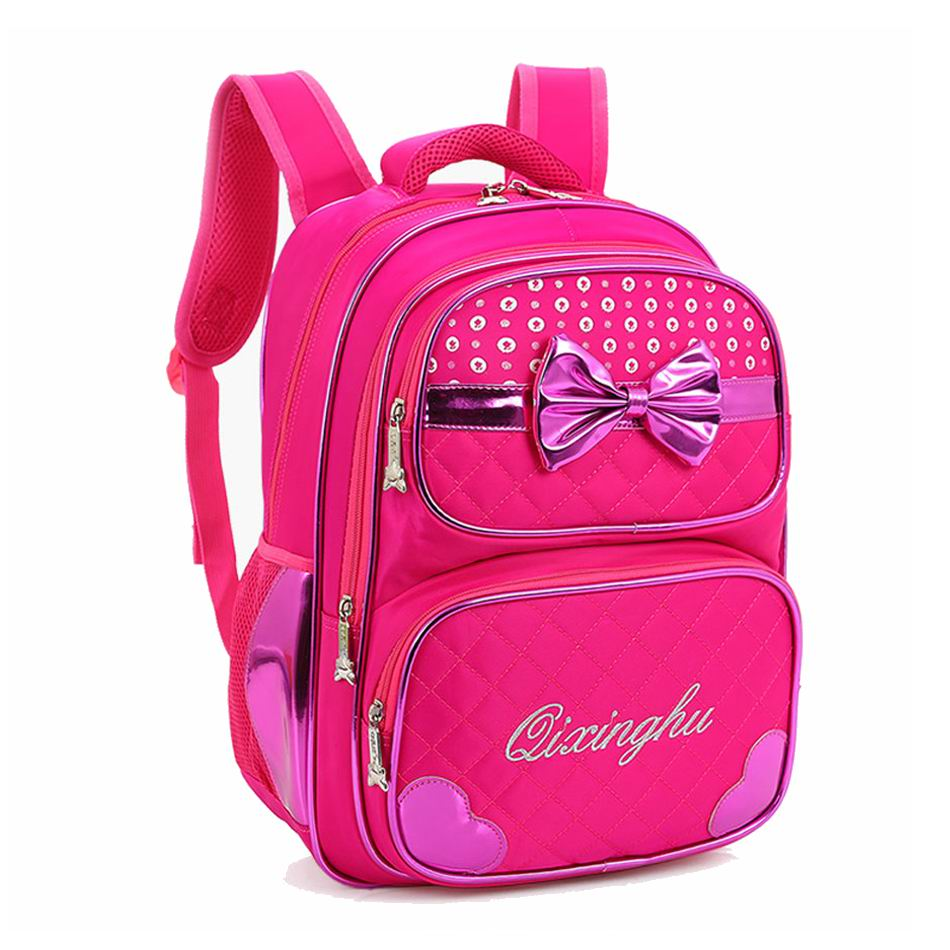New 2016 Orthopedic Children School Bags For Girls Kids Backpack Book Bag Waterproof Backpack Child School Bag Mochila Escolar(China (Mainland))