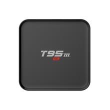 High quality 4K HD free porn video bluetooth tv box T95M google play store app download tv box Amlogic S905x quad-core A53(China (Mainland))