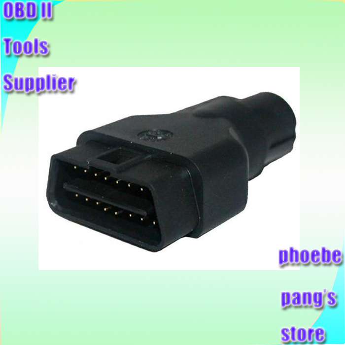 DHL EMS Fast Delivery 5pcs High quality OBD2 OBD II Adapter GM TECH 2 OBDii 16pin Connector wholesale and retail(China (Mainland))