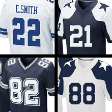 Mens #88 Dez Bryant #21 Joseph Randle #82 Jason Witten #9 Tony Romo #22 Emmitt Smith jersey 100% Stitched Logos(China (Mainland))