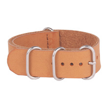 Classic Brown PU Leather watchbands nato 20mm wach band Casual Watches Straps 20 mm