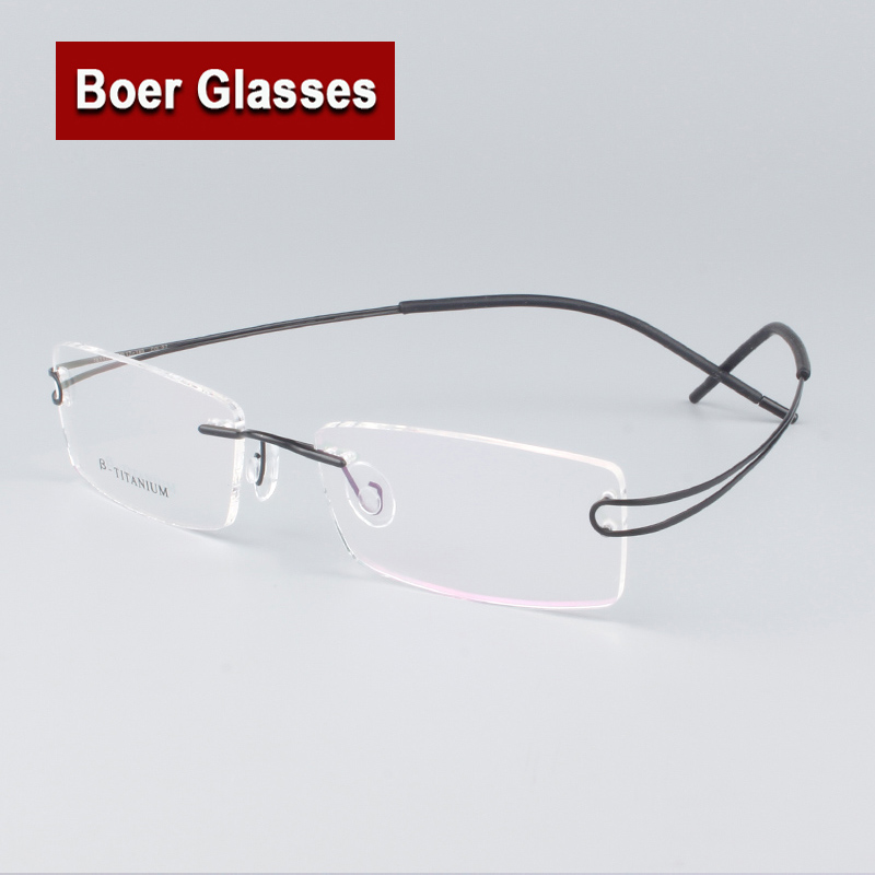 Eyeglass Frames No Screws : Aliexpress.com : Buy 8 colors hingeless rimless non screw ...