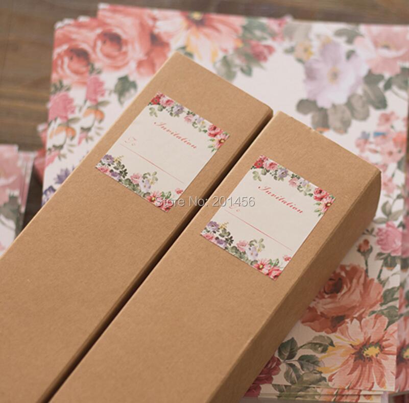 printing wedding invitations on kraft paper scroll invitation paper promotion shop for promotional - Wedding Scroll Invitations