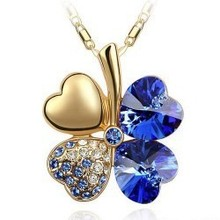 Fashion jewelry, alloy necklace Sweet Clover Pendant girlfriend gifts – b14