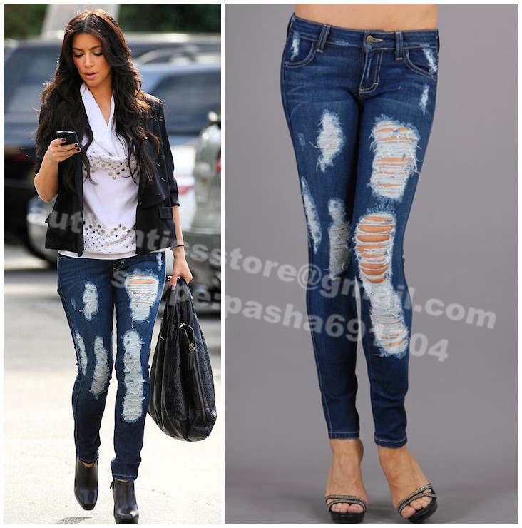 Slim Taille Haute Kim Kardashian Jeans Taille Haute Slim
