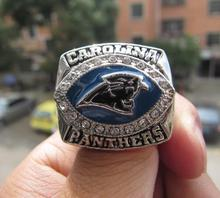 Buy Free High 2003 Carolina Panthers Super Bowl championship ring size 11 Fan Gift Football ring Wholesale for $8.99 in AliExpress store