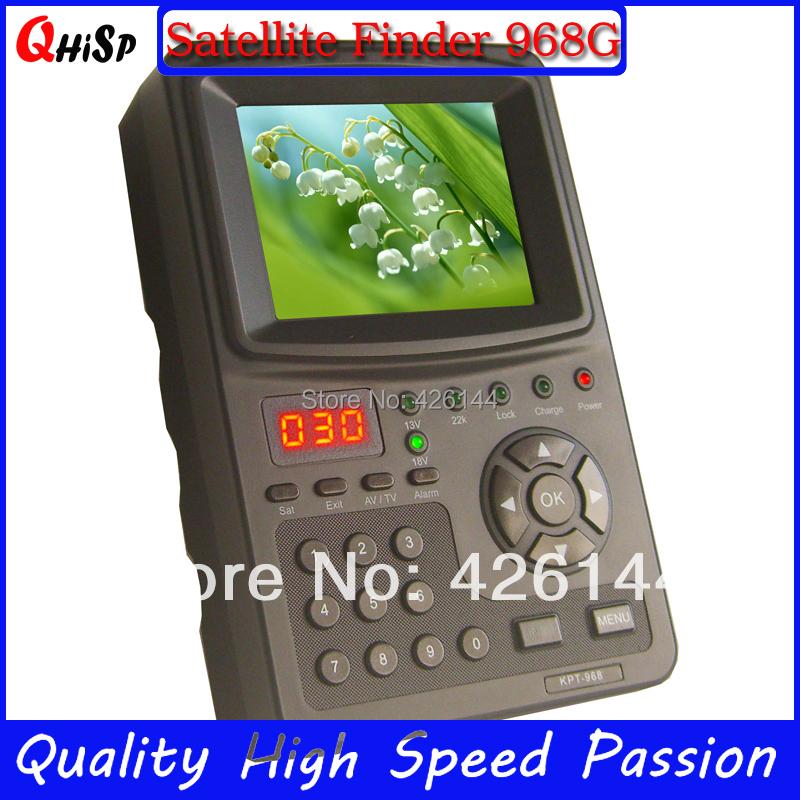 Openbox Tv Tuner Digital Satellite Finder Signal Meter 3.5inch Kpt-968g Tft Dvb-s2 Handheld Abs-s Cbs-s Mpefg-4 Hd Sat Cheap(China (Mainland))