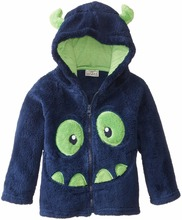 2016 autumn winter fashion kids hoodies thickening warm grlis hoodies Plush animal cartoon embroider boys hoodies G(China (Mainland))